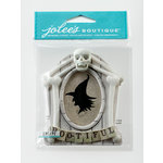 EK Success - Jolee's Boutique - Halloween 2013 Collection - 3D Stickers with Glitter Accents - Wooden Frame