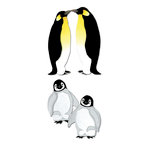 EK Success - Jolee's by You - Dimensional Stickers - Penguins
