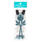 EK Success - Jolee's Boutique - Halloween 2013 Collection - 3D Stickers - Long Stem Roses