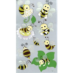 EK Success - Jolee's Boutique - 3 Dimensional Stickers with Glitter Accents - Bumblebees