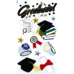 EK Success - Jolee's Boutique - 3 Dimensional Stickers - Graduate, CLEARANCE