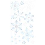 EK Success - Jolee's Boutique - 3 Dimensional Stickers with Foil and Gem Accents - Vellum Snowflakes