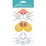 EK Success - Jolee's Boutique - Dress Ups Collection - 3 Dimensional Stickers - Animal Noses