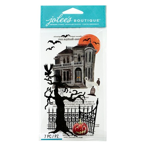 EK Success - Jolee's Boutique - Halloween 2013 Collection - 3D Stickers - Haunted House