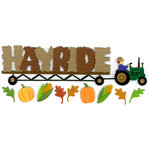 EK Success - Jolee's Boutique - 3 Dimensional Stickers - Hayride