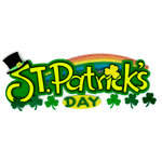EK Success - Jolee's Boutique - St Patty's Day Collection - 3 Dimensional Stickers with Felt and Glitter Accents - St Patrick's Day - Title