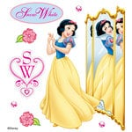 EK Success - Disney Collection - 3 Dimensional Stickers with Epoxy Foil and Gem Accents - Snow White Reflection