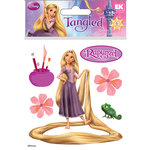 EK Success - Disney Collection - 3 Dimensional Stickers with Epoxy Gem and Glitter Accents - Rapunzel