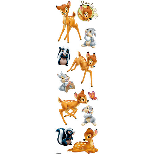 EK Success - Disney Collection - 3 Dimensional Stickers with Varnish Accents - Bambi