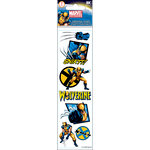 EK Success - Marvel Collection - 3 Dimensional Stickers with Varnish Accents - Wolverine