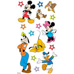 EK Success - Disney Collection - 3 Dimensional Stickers with Epoxy and Varnish Accents - Mickey and Friends
