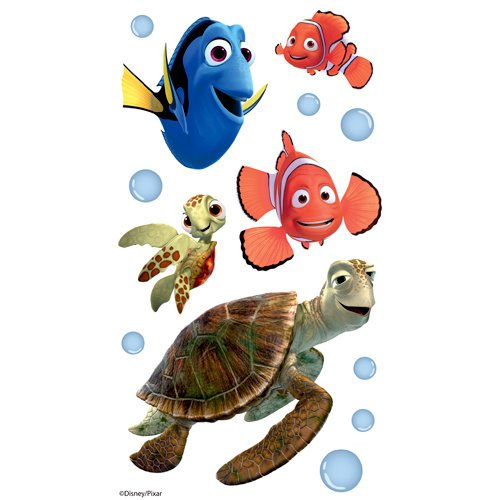 EK Success - Disney Collection - 3 Dimensional Stickers with Epoxy and Varnish Accents - Finding Nemo