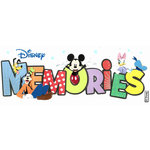 EK Success - Disney Collection - 3 Dimensional Title Stickers with Glitter Accents - Memories