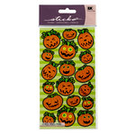 EK Success - Sticko Seasonal Stickers - Halloween - Pumpkin Attitude