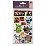 EK Success - Sticko Seasonal Stickers - Halloween - Animal Zombies