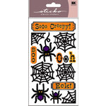 EK Success - Sticko Classic Stickers - Halloween - Scary Spiders