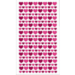 EK Success - Sticko Classic Collection - Stickers - Glitter Hearts