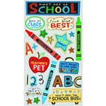 EK Success - Sticko Classic 58 Stickers - First Day of School