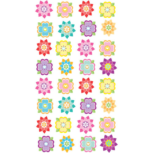 EK Success - Sticko Classic Stickers - Mini Flower Repeats