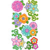 EK Success - Sticko Classic Stickers - Flourishy Flowers