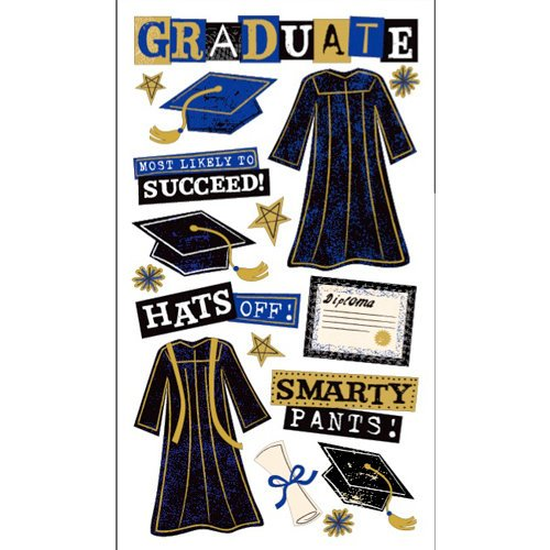 EK Success - Sticko Graduation Collection - Stickers - The Graduate