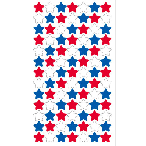 EK Success - Sticko Patriotic Collection - Stickers - 4th of July Stars Repeats