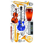 EK Success - Sticko Classic 58 Stickers - Instruments