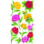 EK Success - Sticko Classic 58 Stickers - Peonies