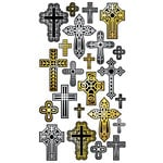 EK Success - Sticko Classic Collection - Stickers - Cross Repeats, CLEARANCE