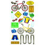 EK Success - Sticko Classic 58 Stickers - Biking