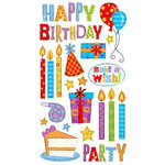 EK Success - Sticko Classic Collection - Stickers - Birthday Party