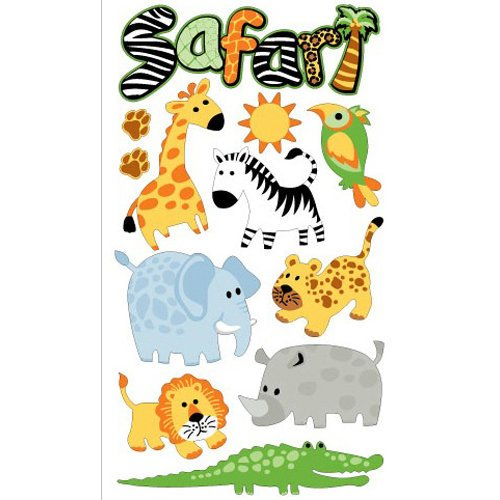 EK Success - Sticko Classic Collection - Stickers - Safari
