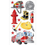 EK Success - Sticko Classic Collection - Stickers - Fireman