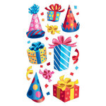 EK Success - Sticko Classic Collection - Stickers - Party Hats and Presents