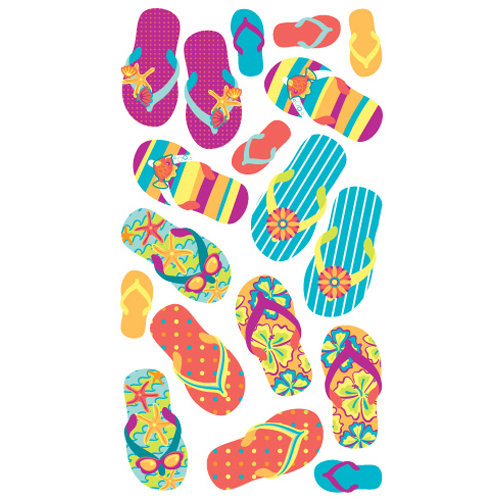 EK Success - Sticko Classic Collection - Stickers - Flip Floppin