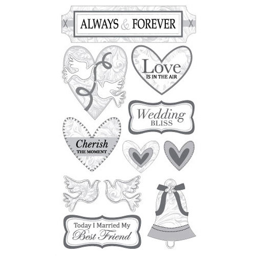 EK Success - Sticko Classic Collection - Stickers - Always and Forever