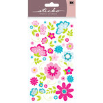 EK Success - Sticko Classic Collection - Stickers - Fan Flowers, CLEARANCE