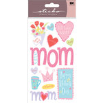 EK Success - Sticko Classic Collection - Stickers - Happy Mother's Day
