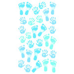 EK Success - Sticko Classic 58 Stickers - Pastel Baby Boy Prints