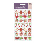 EK Success - Sticko Holiday Stickers - Christmas - Gingerbread