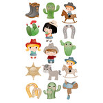 EK Success - Sticko Classic Stickers - Cowboy Cuties