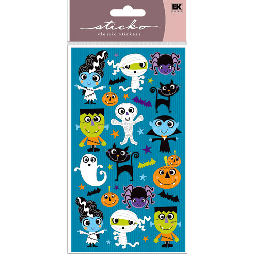 EK Success - Sticko Classic Stickers - Halloween - Halloween Buddies