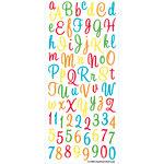 EK Success - Sticko Alphas Stickers - Large - Sweetheart - Multi