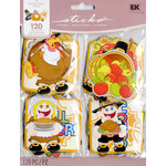 EK Success - Sticko Seasonal Stickers - Extra Large - Fall Thanksgiving