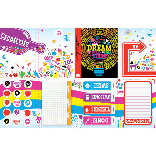 EK Success - Sticko Functionality - Stationery Kit - Dream
