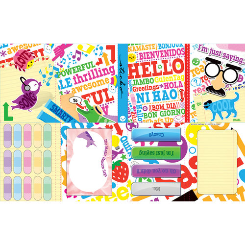 EK Success - Sticko Functionality - Stationery Kit - Hello