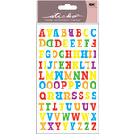 EK Success - Sticko Functionality - Stickers - Type O Alphabet