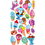 EK Success - Sticko Sparkler Stickers - Ice Cream Friends