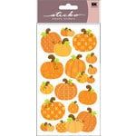 EK Success - Sticko Sparkler Stickers - Halloween - Pumpkins