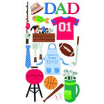 EK Success - Sticko Sparkler Stickers - Father's Day